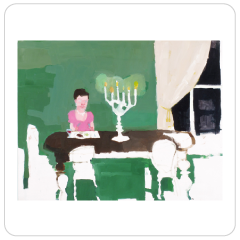 Table for One (Scene from Anna Karenna), Jennie Ottinger