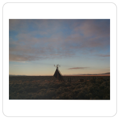 Teepee, Toas, New Mexico, Jane Hilton