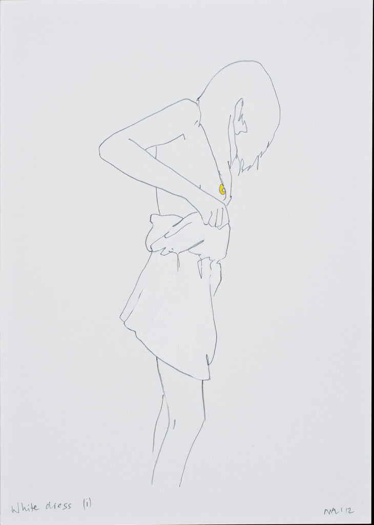 Natasha Law - White Dress i, 2012
