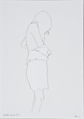 Natasha Law - White Dress ii, 2012