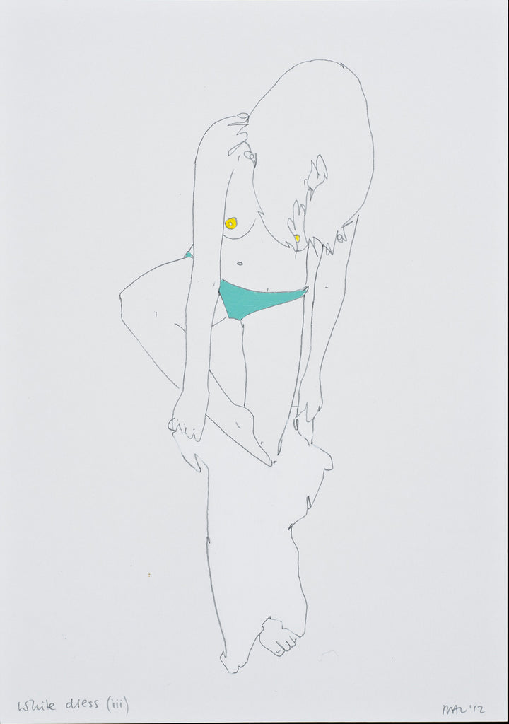 Natasha Law - White Dress iii, 2012