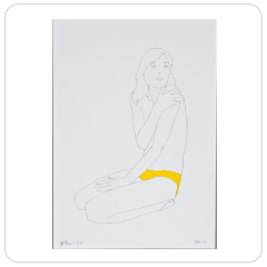 Yellow (iv), Natasha Law