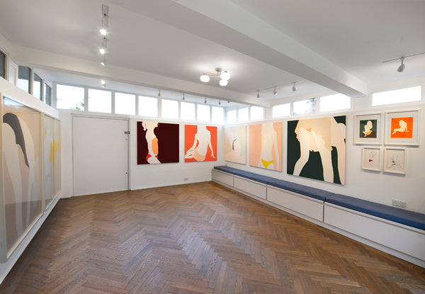 Natasha Law installation, Eleven Fine Art, 2019