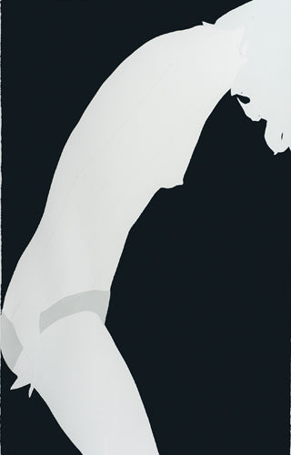 Grey Triangle on Black, Natasha Law