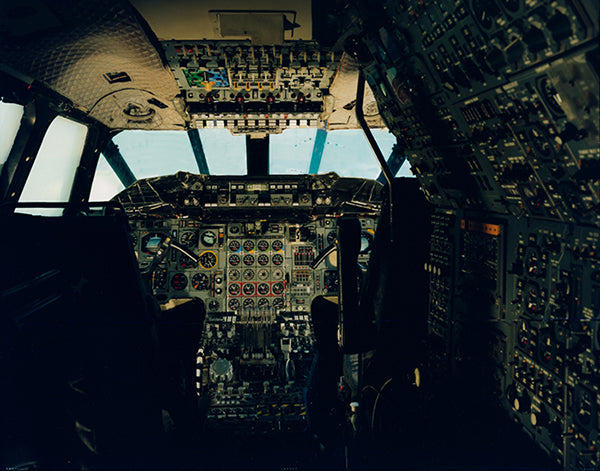 Concorde Cockpit, Harry Cory wright