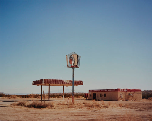 Big Chief Gas Station, New Mexico, Jane Hilton