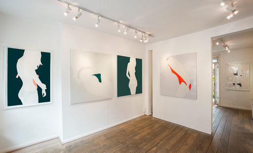 Installation image of 'Lines and Curves' 2016, Natasha Law