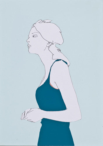 Blue Dress on Blue, Natasha Law