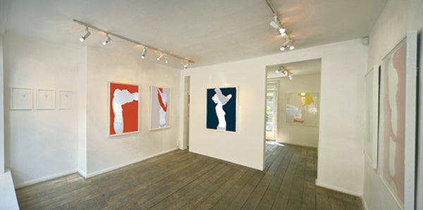Installation image 'Put it on Paper' 2014, Natasha Law