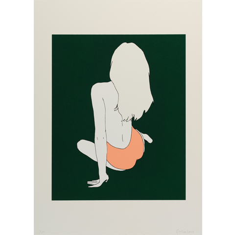 Her Back on Green - Natasha Law
