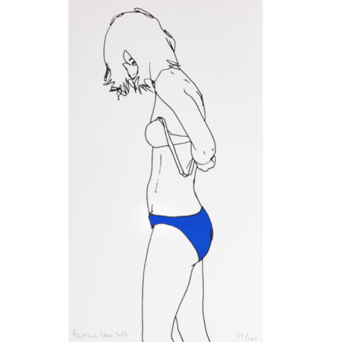 Taking Off in Blue - Natasha Law