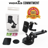 Windshield & Air Vent Magnetic Car Mount - Widras Wireless