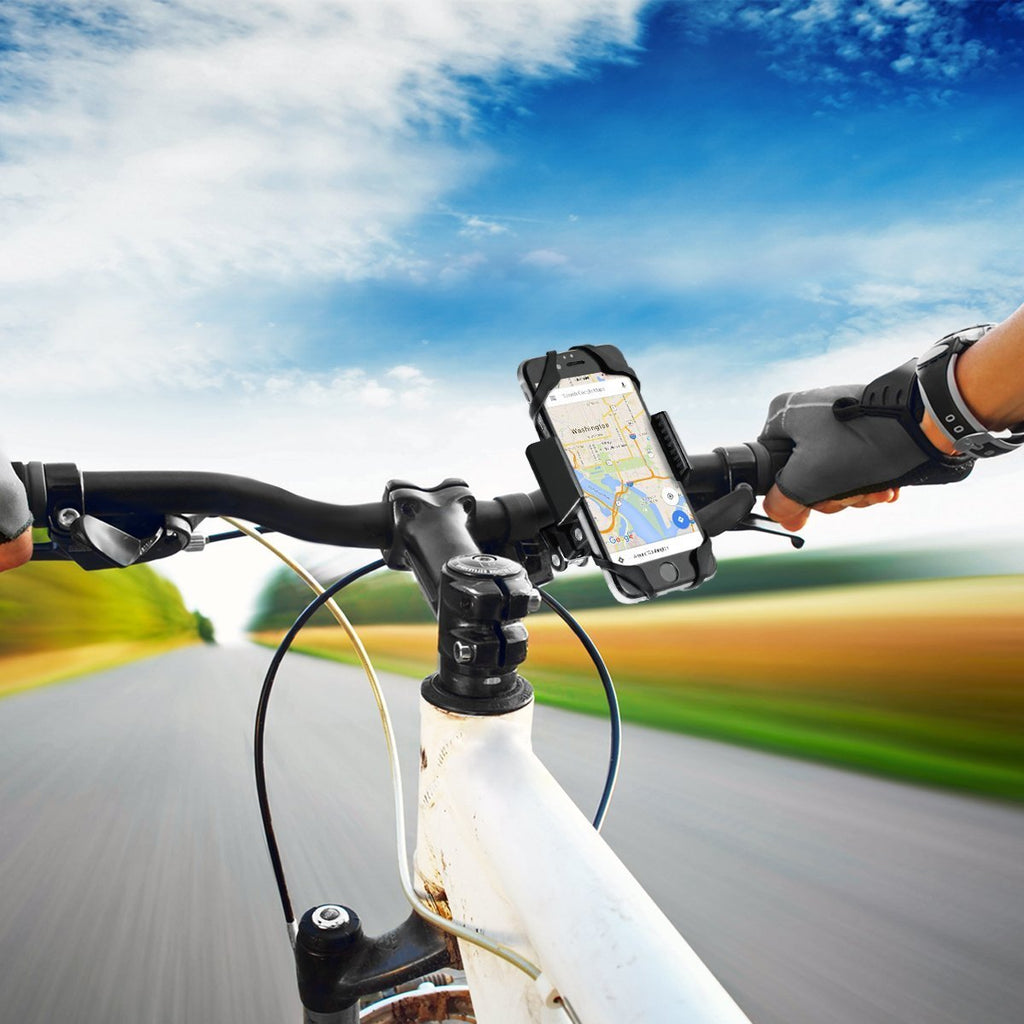 Bicycle and Motorcycle Handlebar Phone Holder - Widras Wireless
