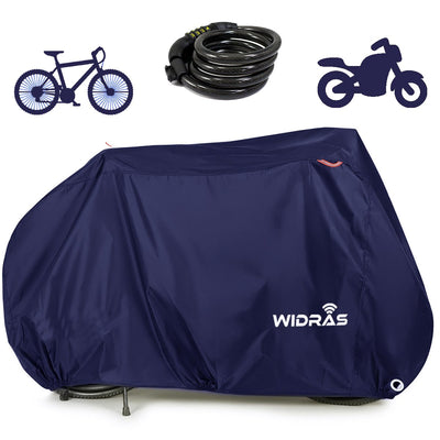 Bicycle and Motorcycle Cover for Outdoor Storage - Widras Wireless