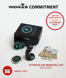 Metallic Car Mount and Office Stand - Widras Wireless