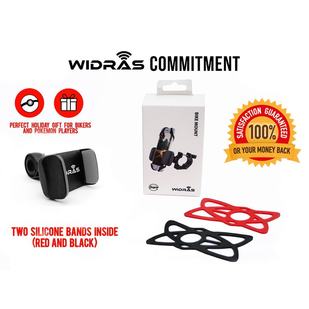 Bicycle Phone Holder - Widras Wireless