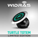 Dashboard Magnetic Car Mount - Green Turtle Edition - Widras Wireless