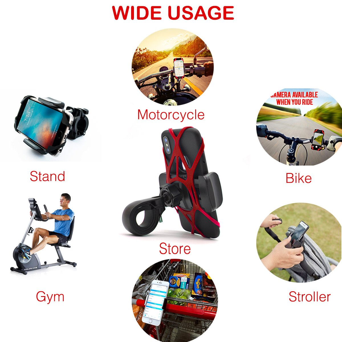 Bike Phone Mount - Widras Wireless