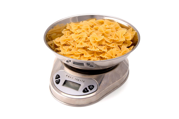 Using a Kitchen Scale saves you time while cooking
