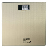 SWS10ST Stainless Steel Digital Bathroom Scale-Large White LCD Display - Sonvadia Weighing Scales