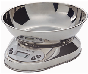 SWSMK03 Kitchen Scale - Mechanical (Stainless Steel Bowl and Housing)- Large Dial