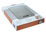 Kitchen Scale Digital, Flat Stainless Steel Surface - 5Kg