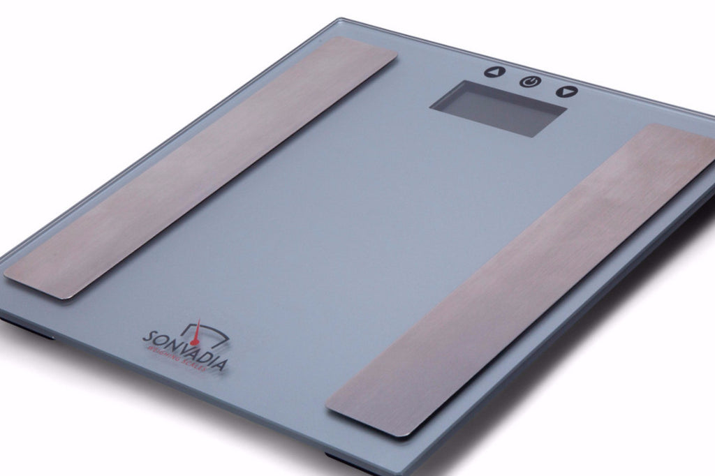 SWS2014 Ultra Slim Glass Digital Body Analyser Scale - Sonvadia Weighing Scales