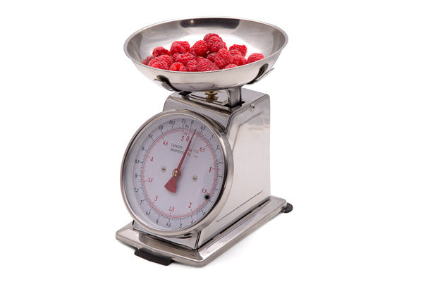 SWSMK03 Kitchen Scale - Mechanical (Stainless Steel Bowl and Housing)- Large Dial - Sonvadia Weighing Scales