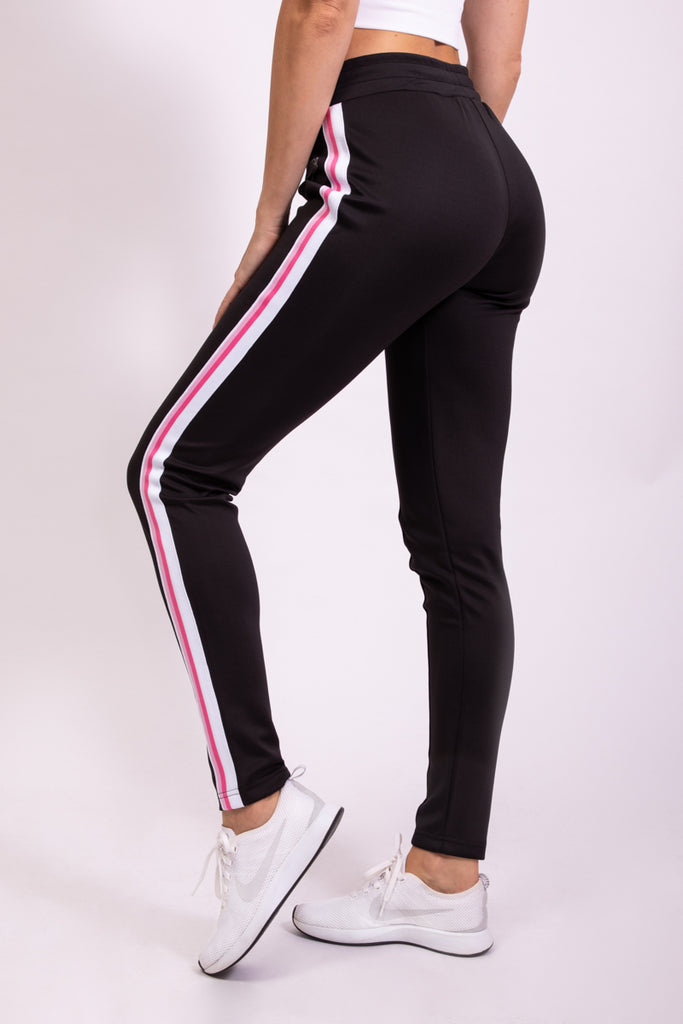 MUST HAVE TRACK PANTS - BLACK