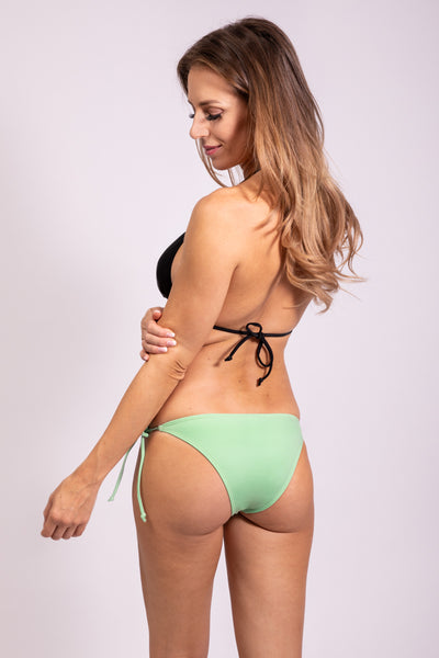 SIDE TIE BIKINI PANTY - REFRESHING MINT
