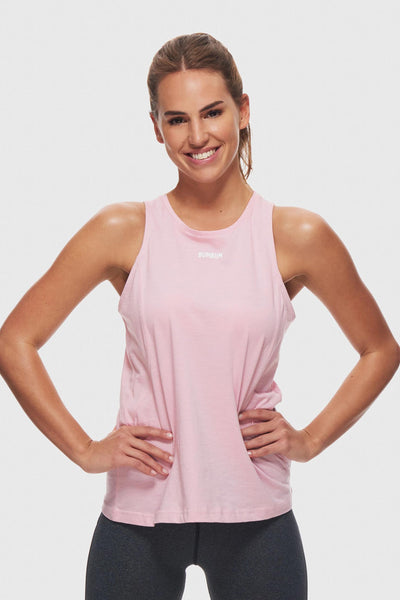 CUT OUT TANK - LIGHT LILAC