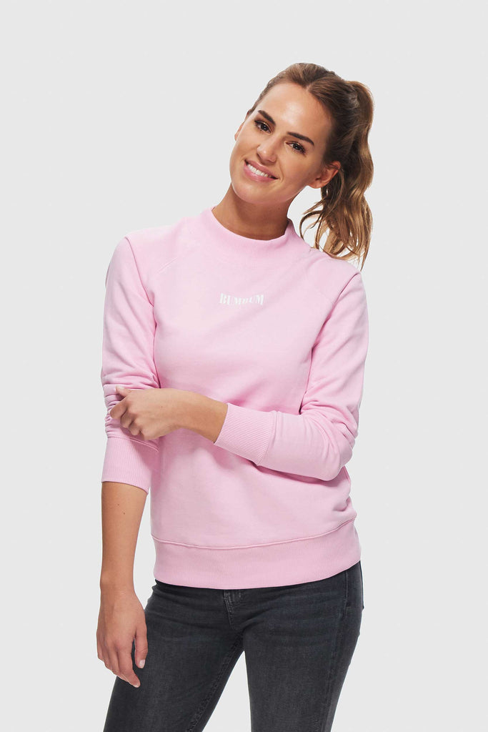 SWEET PINK SWEATER - COTTON CANDY