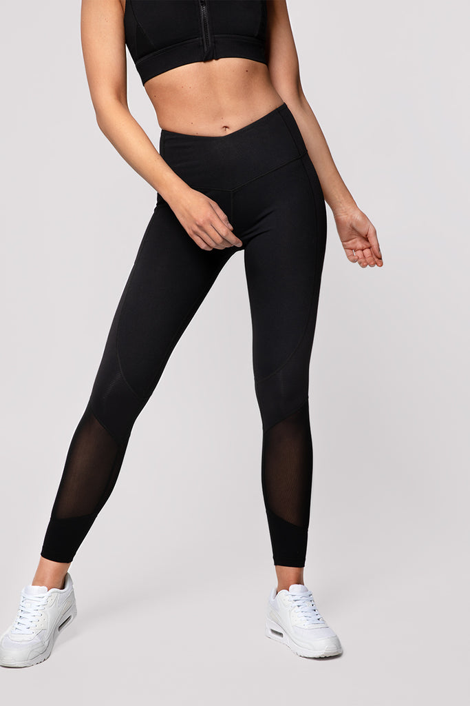 VICTORY TIGHTS - BLACK