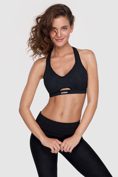 MOTION SPORTS BRA - PURE BLACK