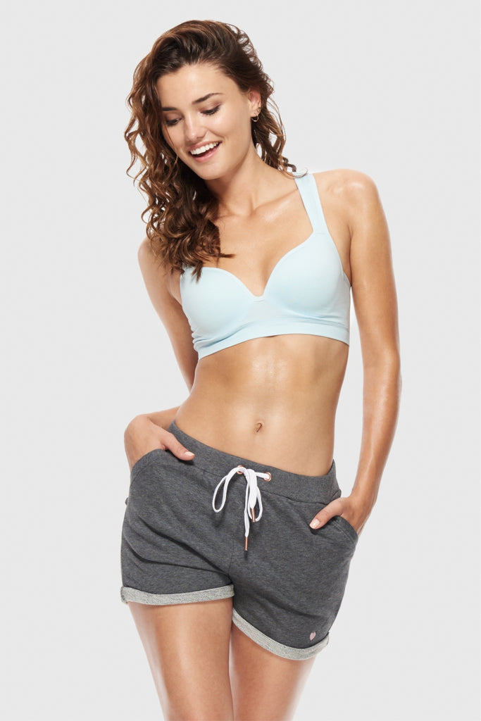 ULTRA FALSIE SPORTS BRA - POWDER BLUE