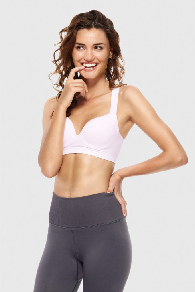ULTRA FALSIE SPORTS BRA - HAPPY BLUSH