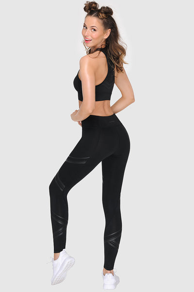 ALL BLACK TIGHTS - JET BLACK