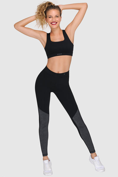 OVERKNEE SPORTS TIGHTS - PURE BLACK