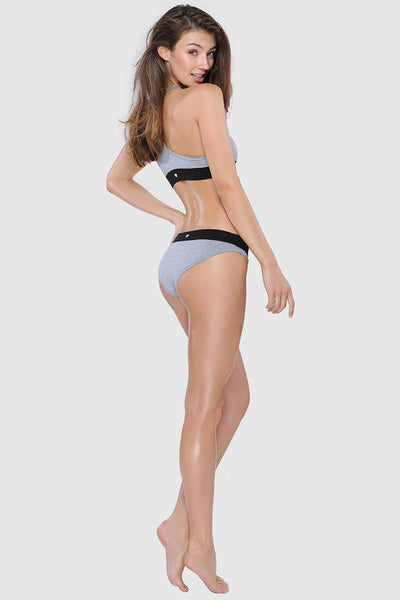 COMFY BRIEFS - HEATHER GREY