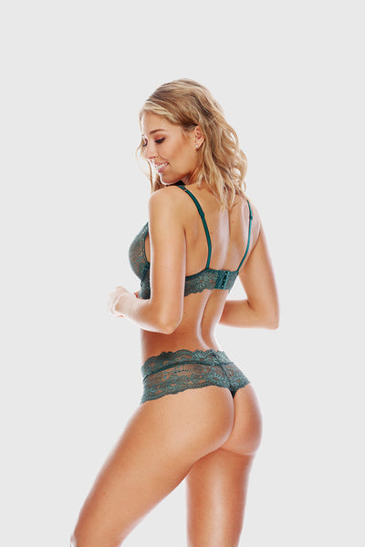 CHEEKY THONG - EMERALD