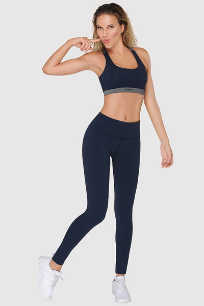CROSSBACK SPORTS BRA - MIDNIGHT BLUE