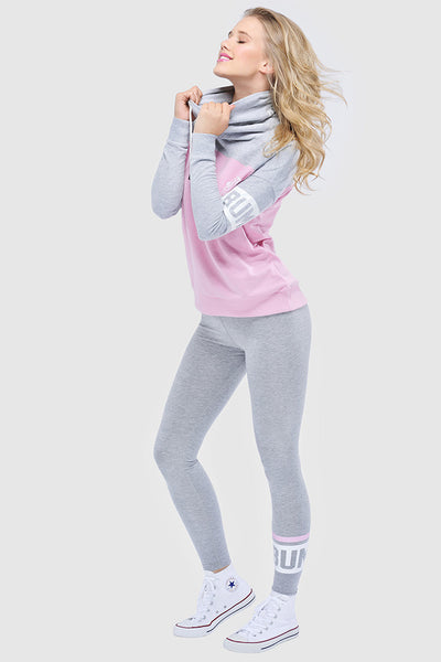 COMFY TIGHTS - LIGHT HEATHER