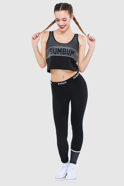 COMFY TIGHTS - PURE BLACK