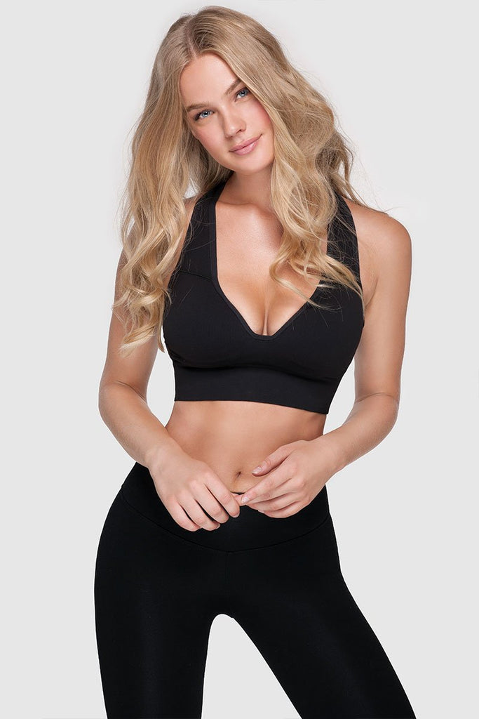 LOVELY FALSIE BRA - PURE BLACK