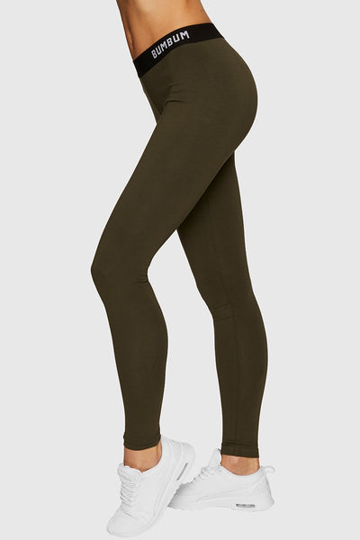 COMFY TIGHTS - ARMY GREEN