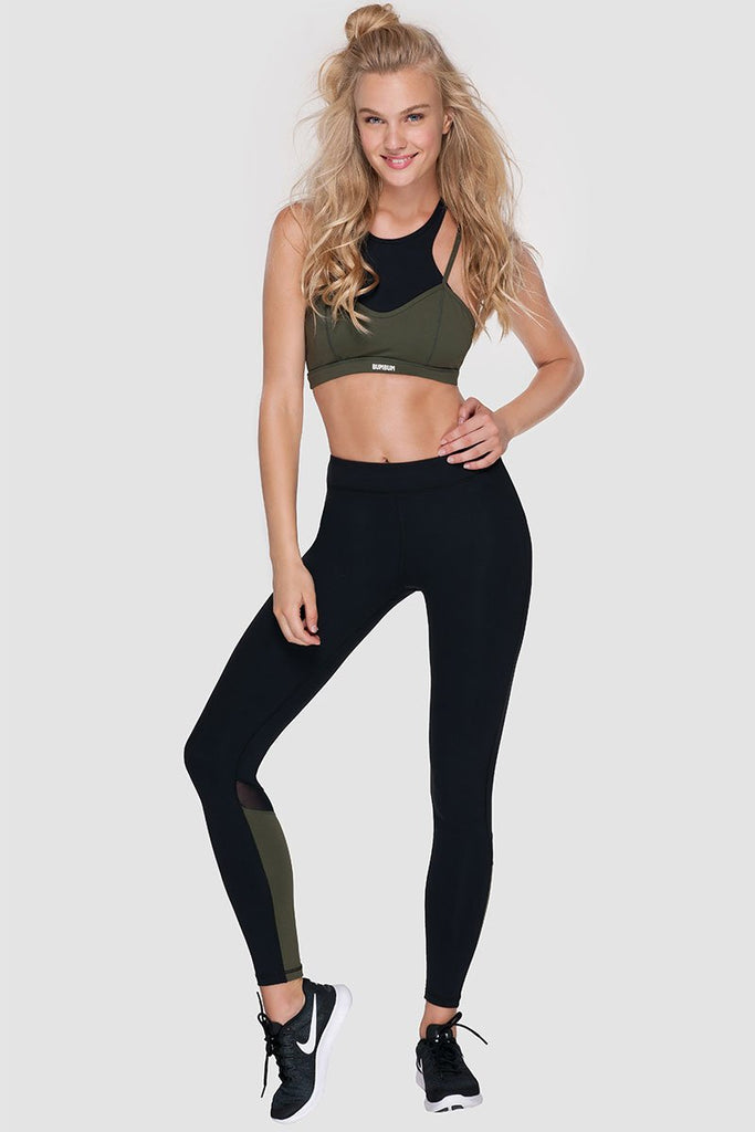 ELEMENTS TIGHTS - PURE BLACK