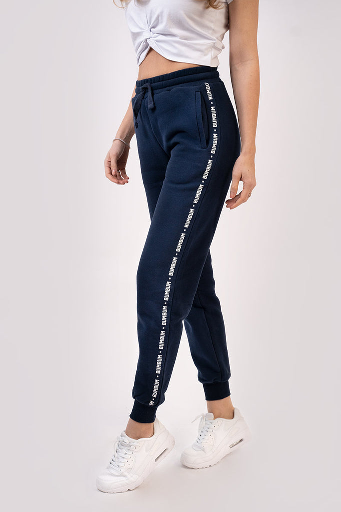 LEGACY TRACK PANTS - NAVY / WHITE