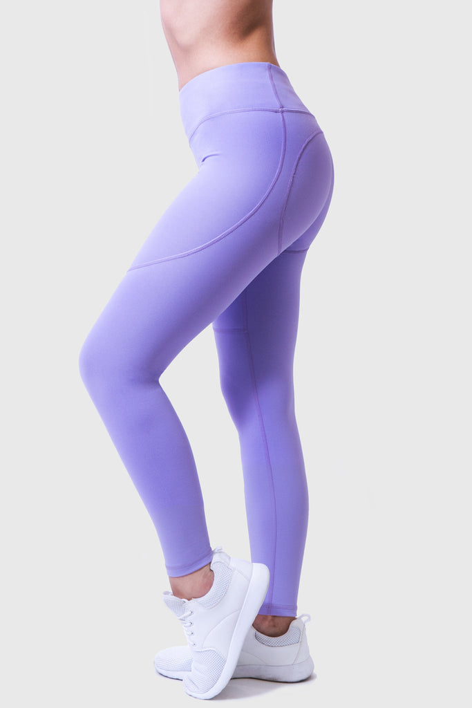 COLOUR LOVER TIGHTS - LIGHT PURPLE