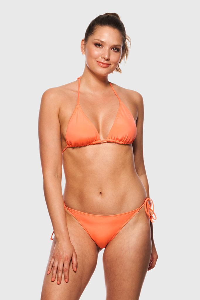 TRIANGEL BIKINI TOP - JUICY APRICOT