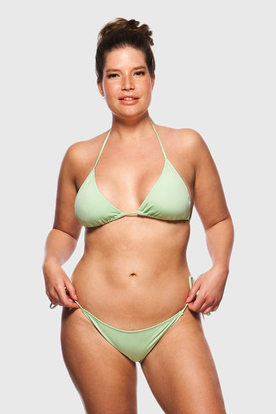 TRIANGEL BIKINI TOP - REFRESHING MINT